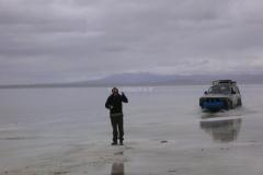 Lago salato de Uyuni