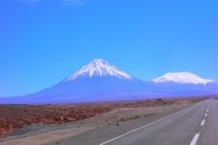 Vista vulcano Juriques il primo assaggio di altopiano lungo la 27