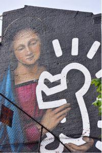 Cibo e arte di strada a New York